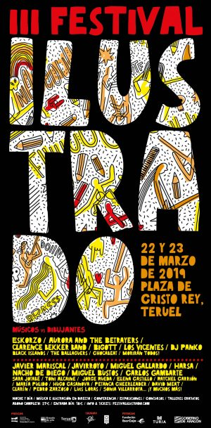 Cartel IIIFestival Ilustrado de Teruel